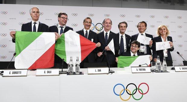 Giochi 2026, la delegazione italiana