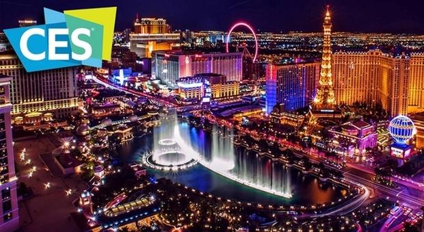 Las Vegas, dove si svolge il CES (Consumer Electronics Show)