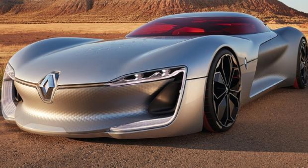 Tresor, il concept elettrico di Renault