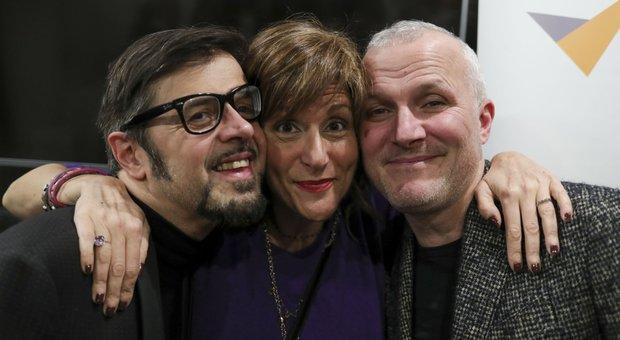 Greg, Federica Cifola e Max Paiella