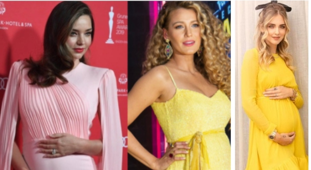 Pancia fashion, da Chiara Ferragni a Katy Perry l'eleganza premaman non può attendere: la maternità ispira gli stilisti