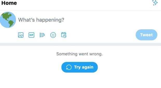 Twitter down, impossibile scorrere la timeline per migliaia di utenti. Il