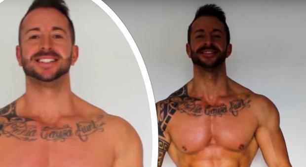 Postino 29enne mangia per 30 giorni di seguito al Mc Donald's e perde 7 chili: «Mi sento in forma» (frame Youtube)