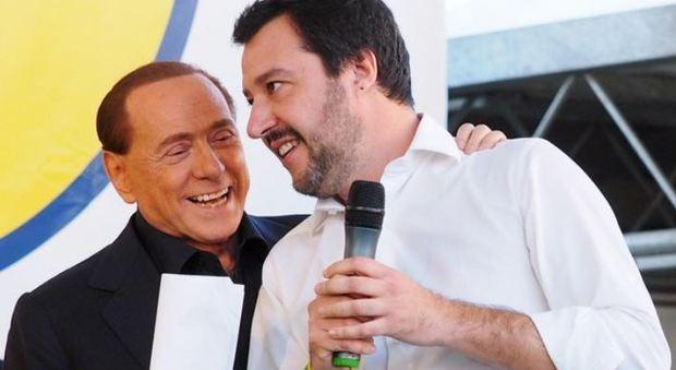 Centrodestra, Salvini a Berlusconi: «Nessuno strappo»