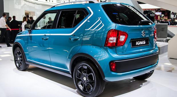 La nuova Suzuki Ignis presentata a Parigi
