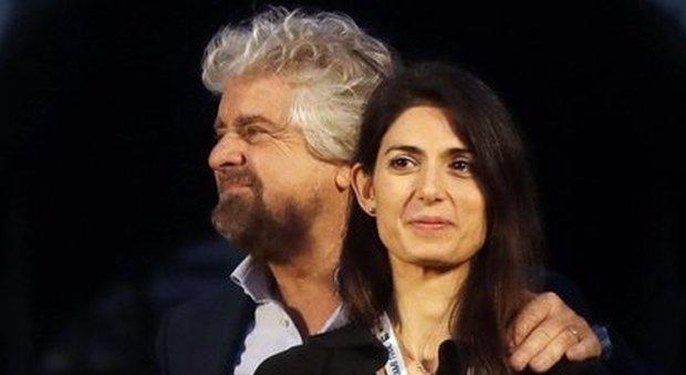 Grillo esalta le cose fatte da Raggi, anche il flop Giro d'Italia e il no alle Olimpiadi