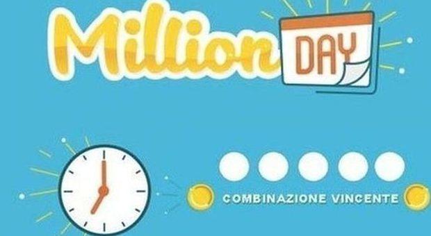 Million Day, i numeri vincenti di oggi martedì 26 marzo 2019