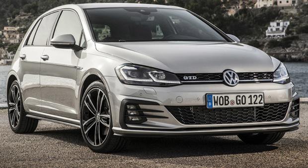 La nuova Volkswagen Golf GTD