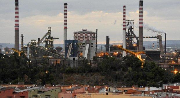 Lo stabilimento Ilva di Taranto