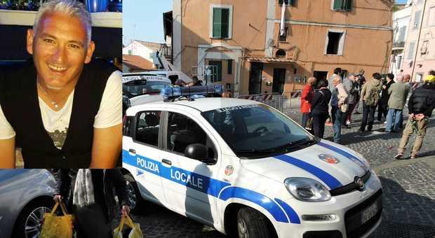 Genzano, esplode palazzina: grave l'allenatore Alessandro Abbatini, figlio di Bruno, giocatore della Roma (foto di Luciano Sciurba)