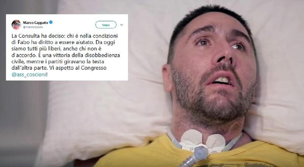 Eutanasia, la Consulta apre al suicidio assistito: «Indispensabile intervento di legge»