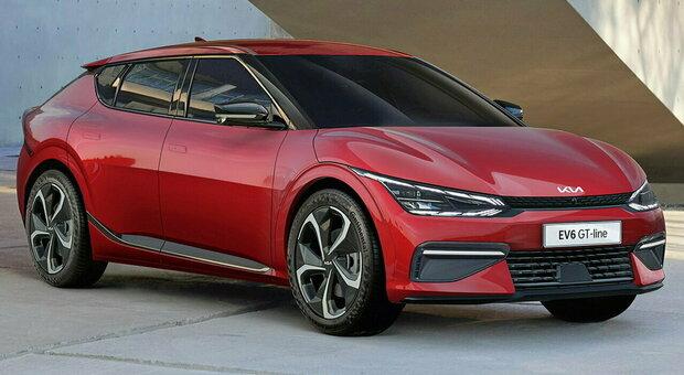 Kia EV6, l'auto elettrica nella sua forma più avanzata
