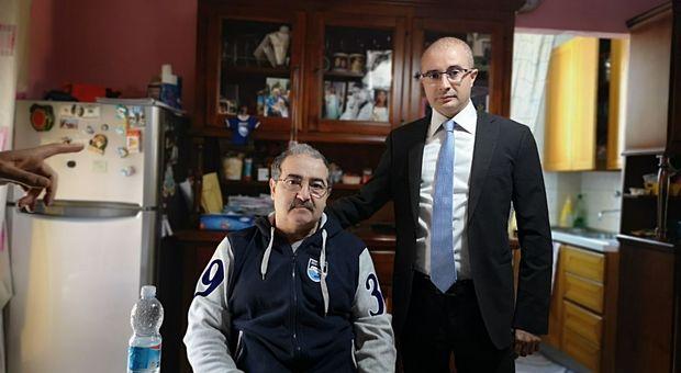 Moreno con il consigliere regionale Pettinari