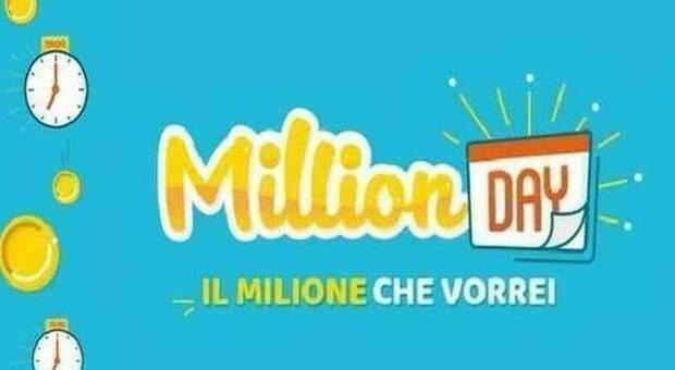 Million Day, i numeri vincenti di sabato 25 luglio 2020