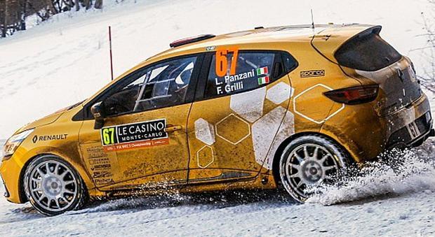 La Renault Clio R3T di Luca Panzani e Federico Grilli