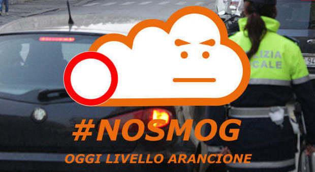 A Vicenza l'allarme smog ha fatto scattare il livello arancione: ferme auto vecchie ed euro 4 diesel