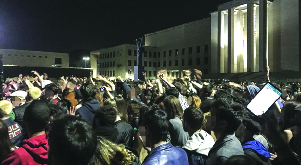 Gli organizzatori del Teppa Fest, che si è svolto nel cortile dell'ateneo ad aprile 2018, sono accusati di violenza privata