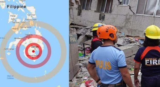 Terremoto, scossa di magnitudo 6.8 nelle Filippine: paura nel paradiso dei turisti