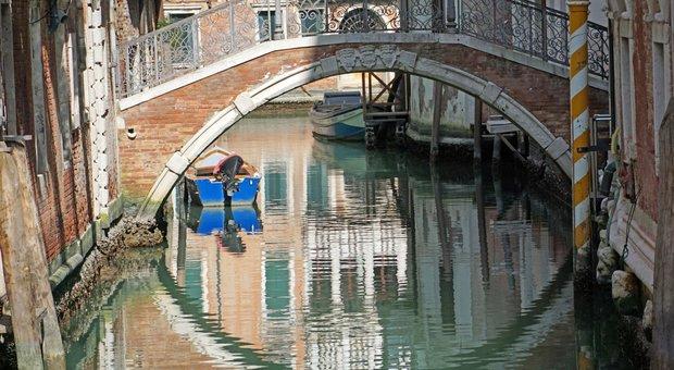 Coronavirus, effetti inaspettati a Venezia. «Moto ondoso scomparso Tutti i canali sono rinati»