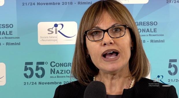 Annamaria Iagnocco, dal 2021 sarà  presidente della Società europea di reumatologia