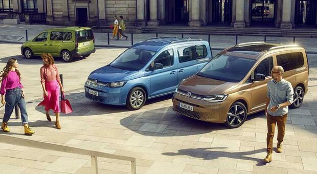 Il nuovo Volkswagen Caddy