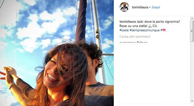 """Laura Torrisi e la crisi con Luca Betti, la """"spiegazione"""" social: «Io e te, sempre e comunque»"""