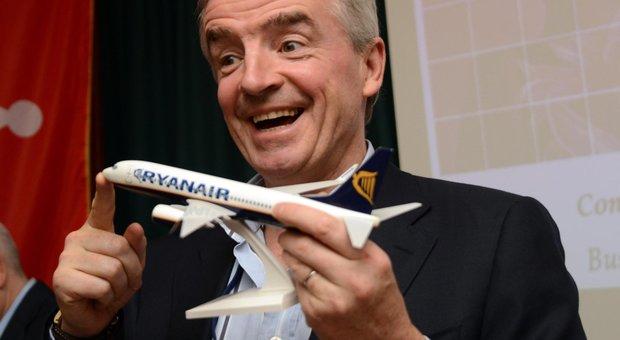 Coronavirus: O'Leary, patron di Ryanair: «Posti vuoti idea idiota, se è così non torneremo a volare»