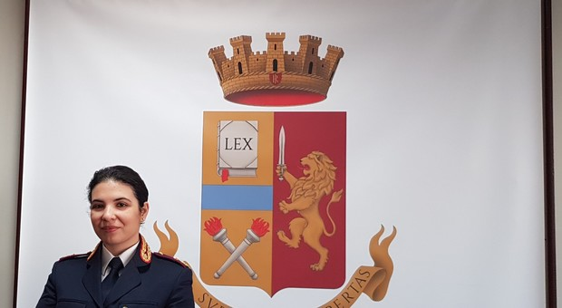 la Dottoressa Mariantonia Di Sanzo, nuovo Medico Principale della Questura di Terni