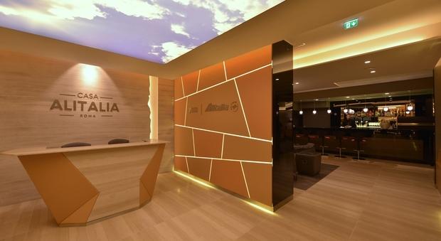 Sala Fumatori Malpensa : Casa alitalia ecco le nuove lounge di fiumicino e malpensa