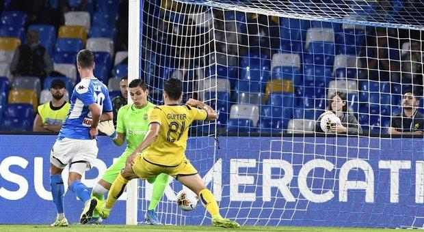 Il gol di Arek Milik
