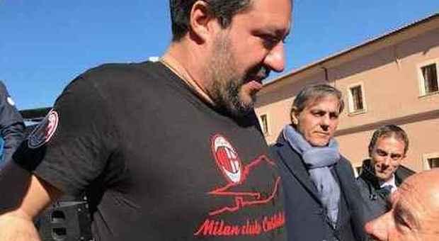 Salvini in Sardegna