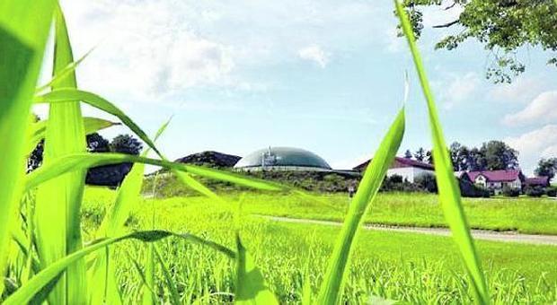 Una centrale a biogas (archivio)