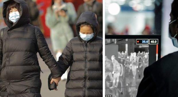 Virus Cina, a Fiumicino scanner da giovedì per il controllo della temperatura corporea
