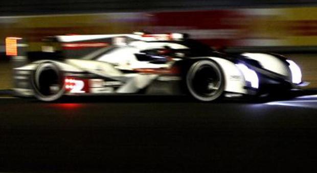 L'Audi R18 e-tron numero 2, l'auto più veloce della 24 Ore di Le Mans