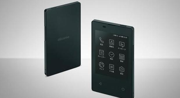 Smartphone, ecco il più sottile al mondo: il KY-O1L ha le dimensioni di una carta di credito