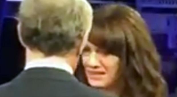 Asia Argento in lacrime da Giletti: «Fu Bennett a violentarmi. Voglio tornare a X Factor»