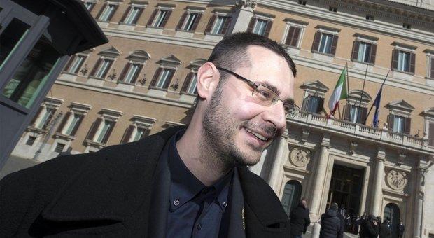 Il deputato leghista Vito Comencini. A Pontida ha detto: Mattarella mi fa schifo