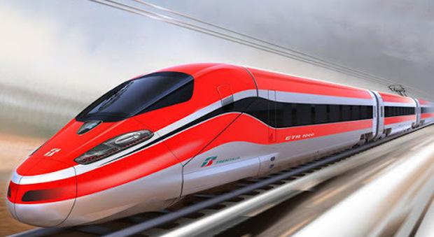 Il Frecciarossa 1000 di Trenitalia