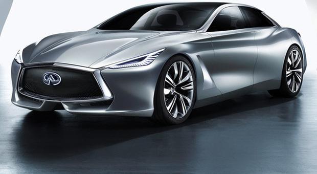 Il concept Q80 Inspiration della Infiniti, marchio di Nissan