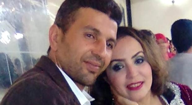 Samira El Attar insieme al marito Mohamed Barbri
