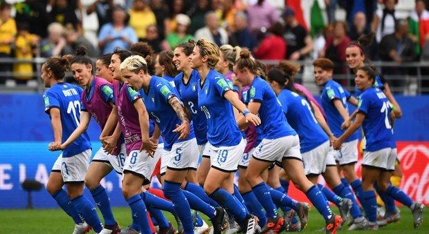 La nazionale di calcio femminile ai mondiali dello scorso anno