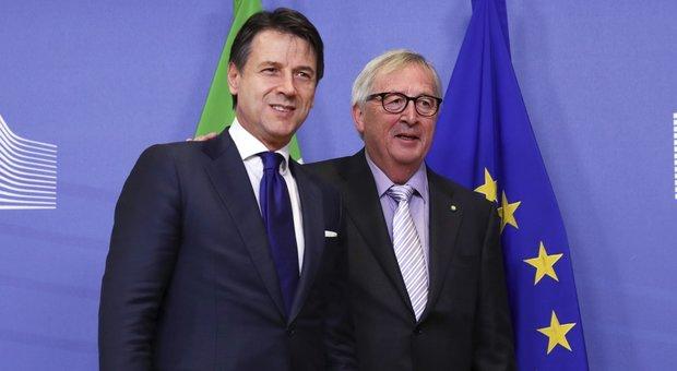 Manovra, Conte a Juncker: «Deficit a 2,04%, reddito e quota 100 restano»