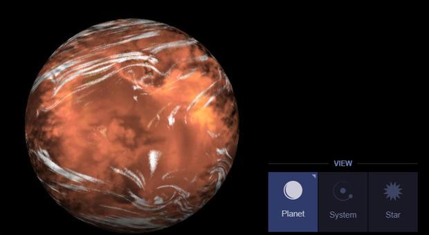 Scoperta acqua su un pianeta simile alla Terra: dista 110 milioni di anni luce