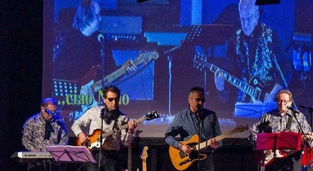 Un'esibizione di Ancona Beat