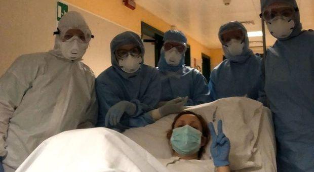 Civitanova, mamma positiva al Coronavirus: è Eva la prima nata al Covid Hospital