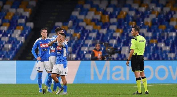 Il Bologna espugna il San Paolo (1-2), per il Napoli e Ancelotti c'è aria di bufera