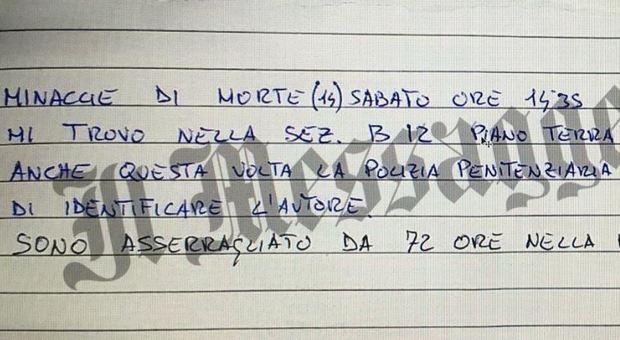 Diabolik, Gaudenzi dal carcere: «Ho paura, vogliono uccidere anche me»