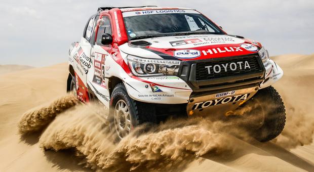Il Toyota Hilux che ha dominato la Dakar 2019