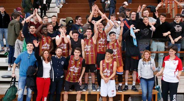 L'istituto Barbarigo festeggia la vittoria nella tappa
