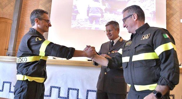 Vigili del fuoco, cambio al vertice del comando. A Roma arriva Francesco Notaro